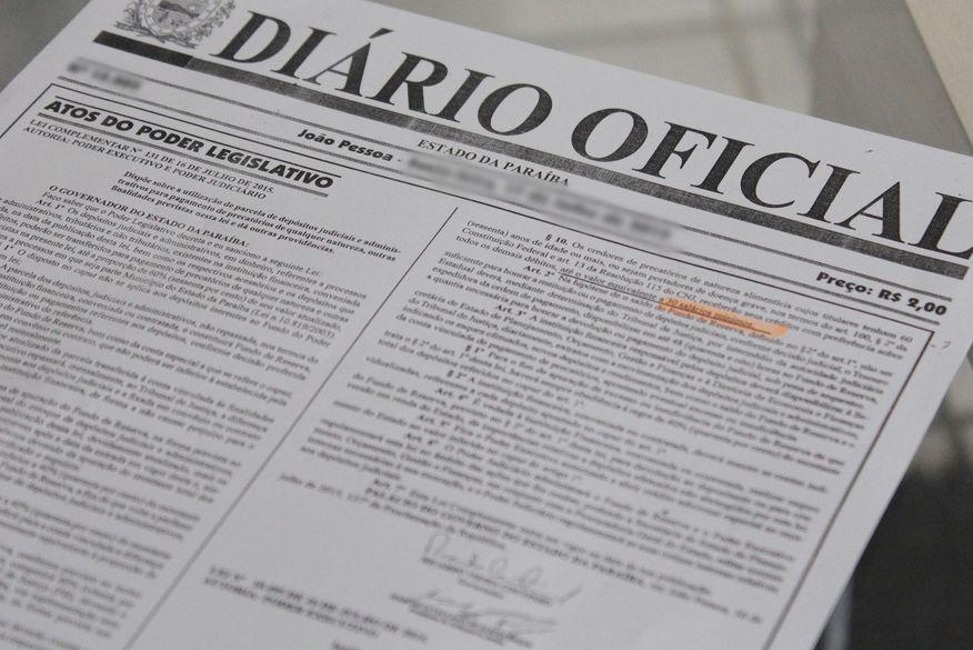 Diário Oficial traz exoneração de Livânia Farias e nomeação de substituta