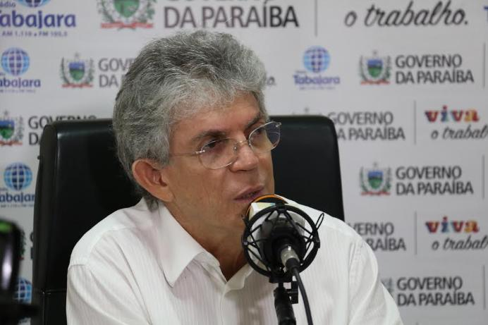 BASTIDORES: Ricardo está chateado com apatia dos aliados sobre denúncias da Operação Calvário