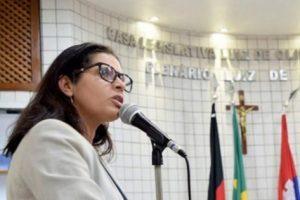Neusa Costa, presidente da Câmara Municipal de Cabedelo