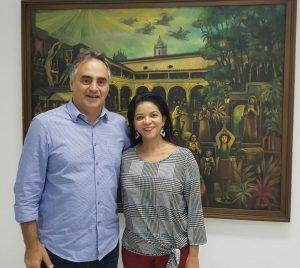 Luciano Cartaxo nomeia Regina dos Santos para assumir Controladoria Geral do Município