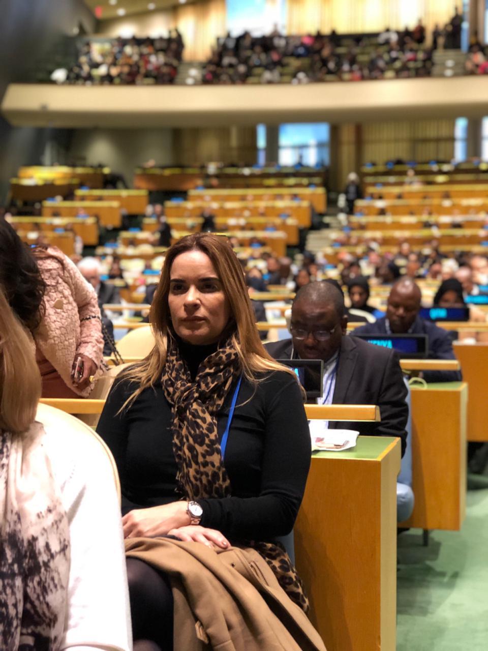 ONU Mulheres: Senadora Daniella Ribeiro cumpre sua primeira missão oficial nos EUA